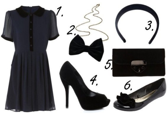 Cheap Finds of the Week: Black Velvet Details from $8 to $42 2