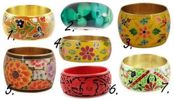 Springtime Flare: Color-Loaded Floral Bangles 1