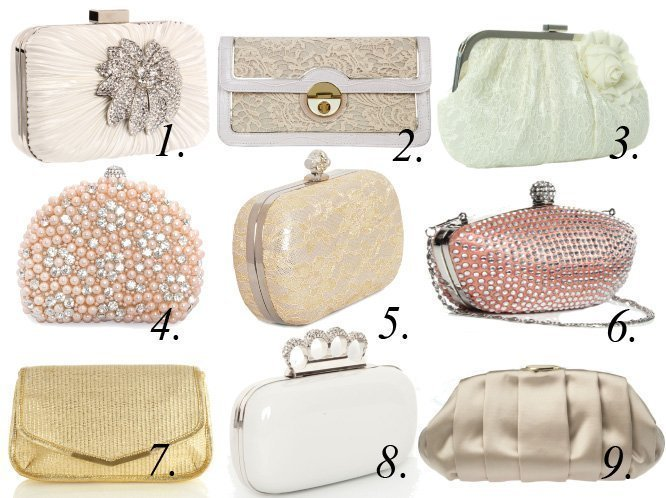 Precious Little Finds: Bridal Clutches Under $60!