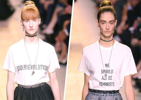 Statement T-shirts in 2017 Fashion