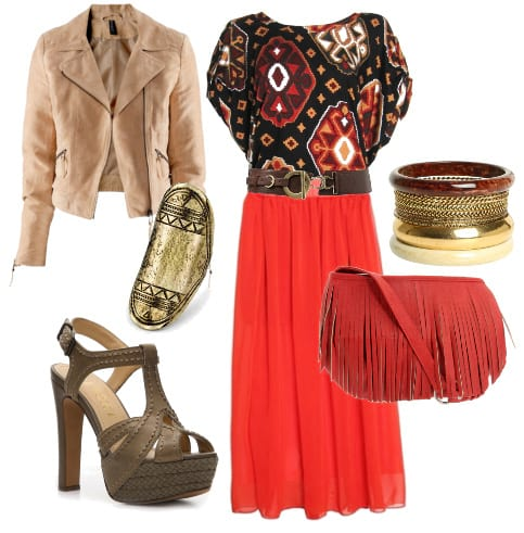 Daily Bohemian & Chic Look: Ethnic Vibes, Aztec Flavors 1