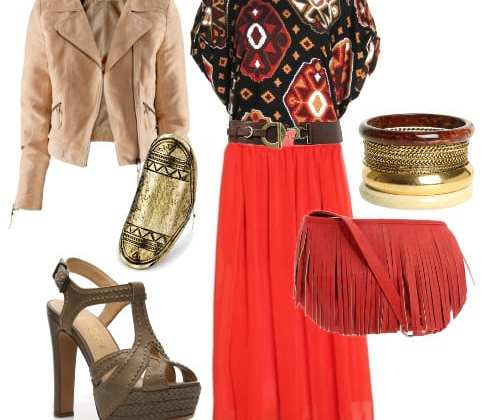 Daily Bohemian & Chic Look: Ethnic Vibes, Aztec Flavors 3