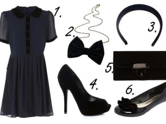 Cheap Finds of the Week: Black Velvet Details from $8 to $42 3