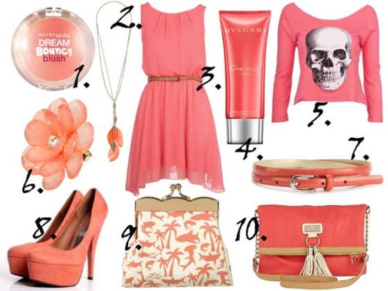 Color of the Week: Coral - 10 Finds Under $50! 4