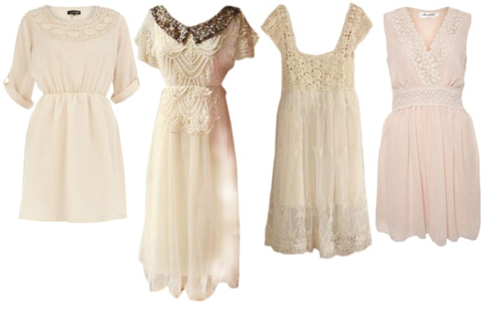 Vintage-Like Flavors: Crochet Dresses Under $50 1