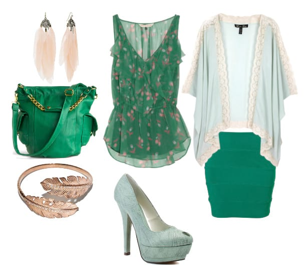Themed Outfit: Minty Forest 9