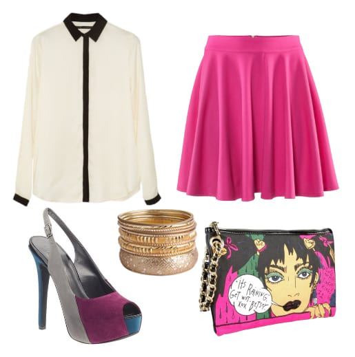 Daily Look: Funky Hot Pink Outfit for Less Than $150 3