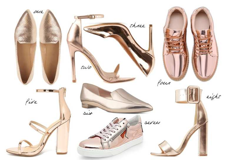 8 Rose Gold Flats & Heels Under $50