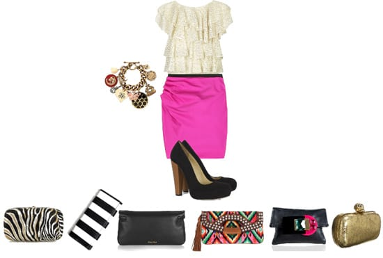 This Outfit Needs a Clutch! 3