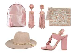 5 Valentine's Day-Ready Petal Pink Tassel Gifts Under $50 39