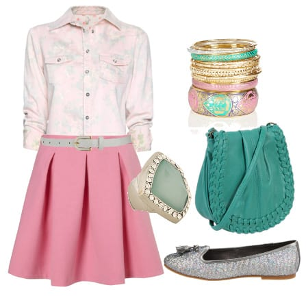 Pinky Blues - Daily 7-Piece Look Under $200 1