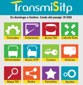 Transmilenio app