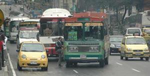 Busetas and taxis