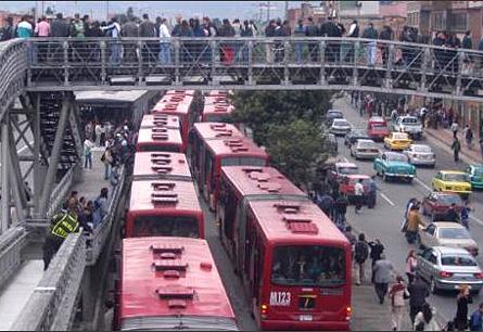 Bogota bus system - Transmilenio