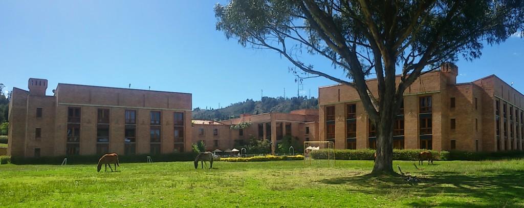 We stayed at Hotel Estelar, Paipa