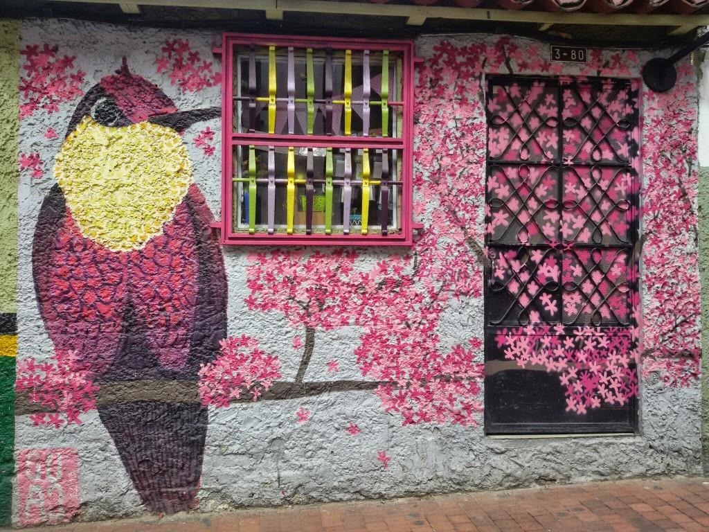 Street art in Bogotá