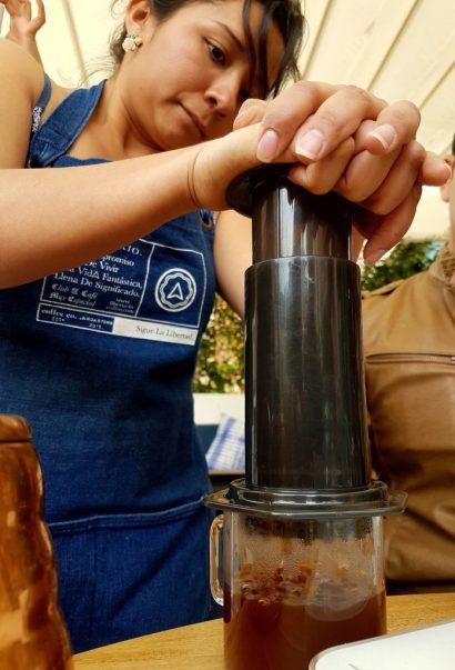Coffee tour libertario