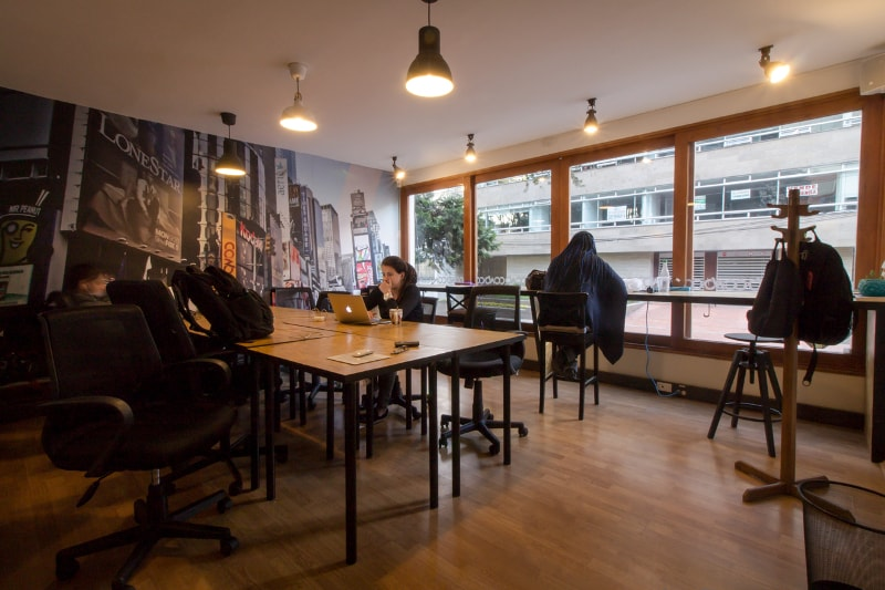 Cowo coworking spaces Bogota
