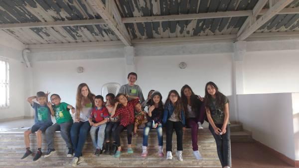 Moving to Bogota volunteering