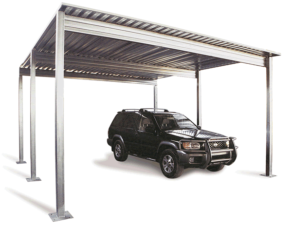 Replacing Old Or Damaged Metal Carport Parts How To Build A House