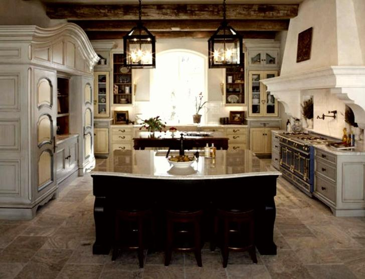 Rustic Style Kitchens French Kitchen