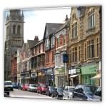 Rugby, Regent Street, Shops
