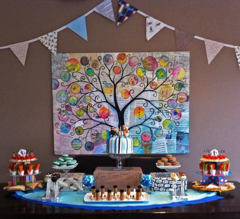 First Birthday At Home Ideas Home Design Lily Pad Baby Rainbow