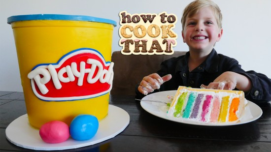 Howtocookthat Cakes Dessert Chocolate Play Doh Cake Video Howtocookthat Cakes Dessert Chocolate