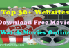 Best 30+ Websites for Free Movie Downloads or Watch Online