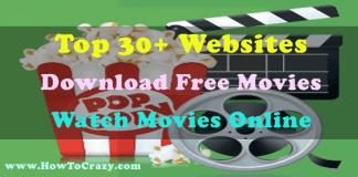 Best 30+ Websites for Free Movie Downloads or Watch Online
