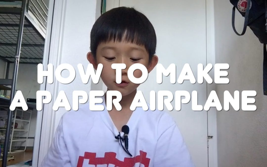 How to make a paper airplane [VIDEO]