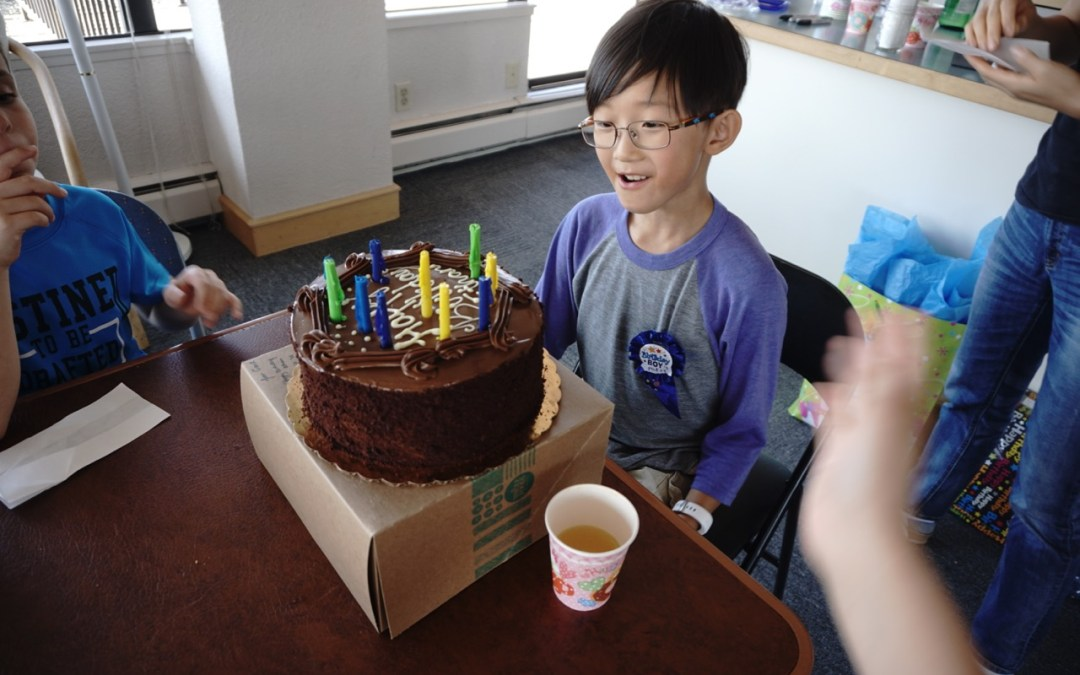 Unschooling Journal August 26-September 1, 2018 – Daytime Astronomy and a Birthday Party