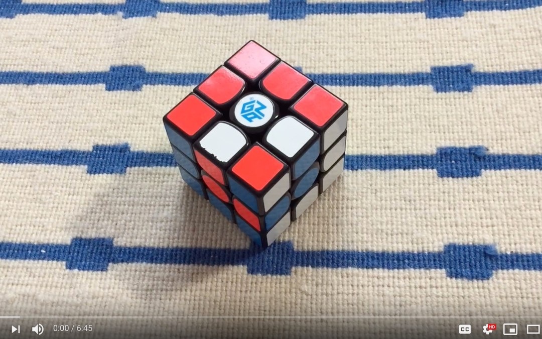 how to make the cube in a cube pattern on the 3×3 [Video]