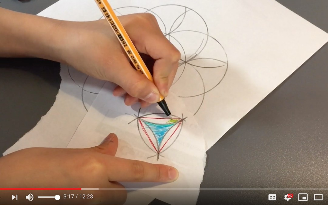 how to calculate the area of a…triangle-like thingy video