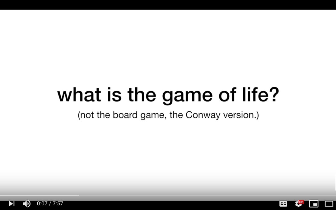 Conway's Game of Life Explained [Video]