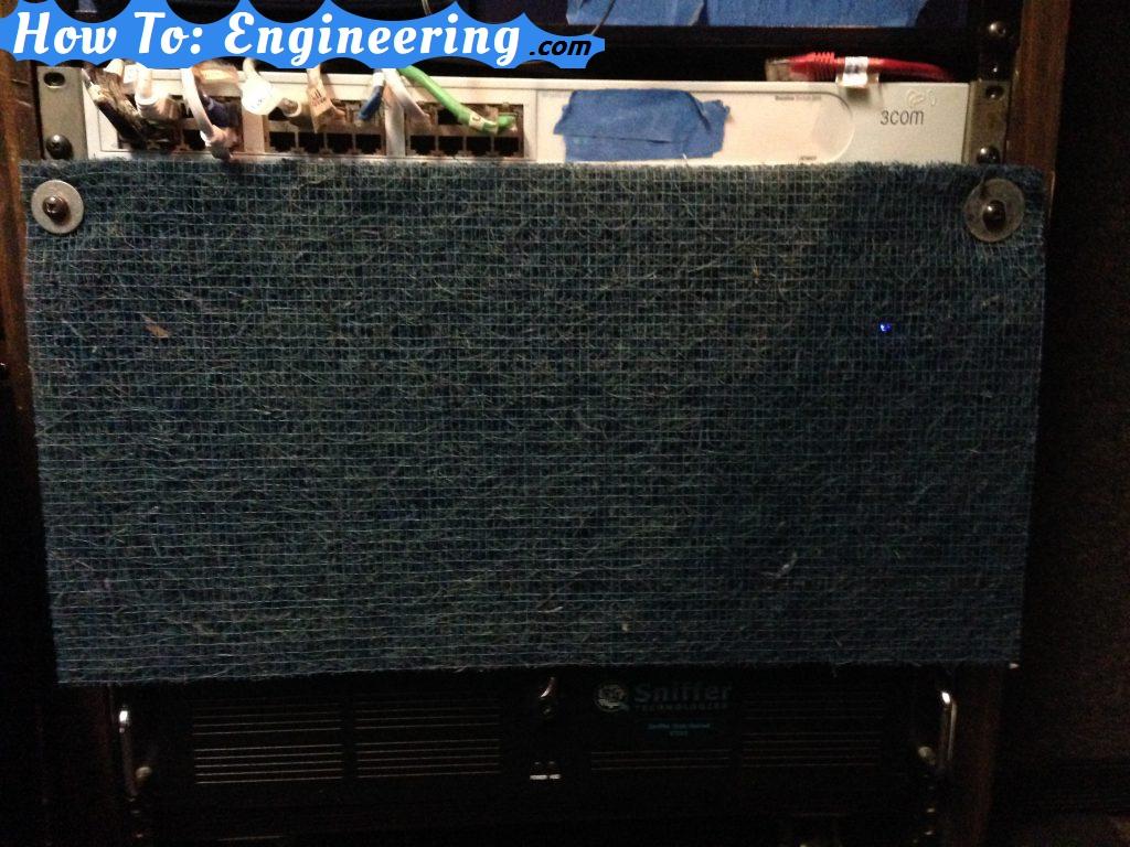 dust filter for server rack