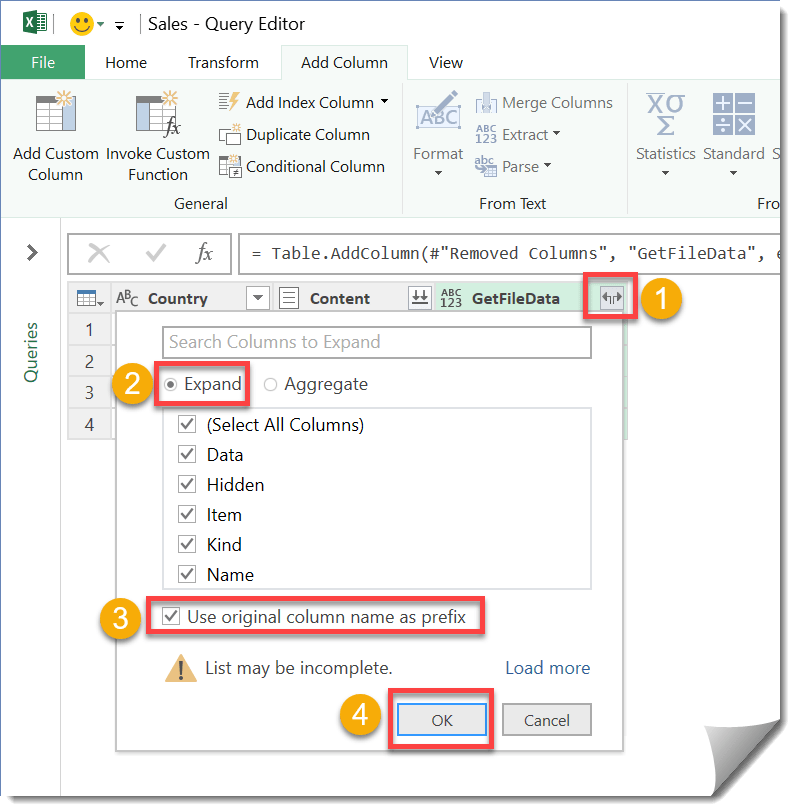 Step-007-How-To-Import-Multiple-Files-With-Multiple-Sheets-In-Power-Query How To Import Multiple Files With Multiple Sheets In Power Query
