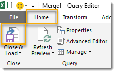 Combine-Queries-A-and-B-with-Merge-Step-4 How To Compare Two Tables Using Get & Transform