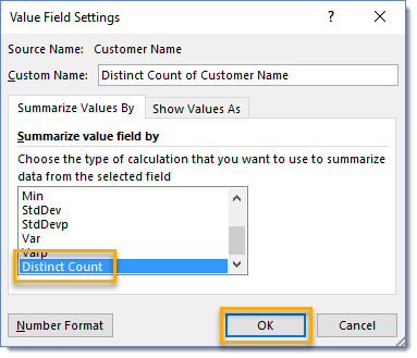 Value-Field-Settings-Select-Distinct-Count 101 Advanced Pivot Table Tips And Tricks You Need To Know