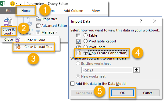 How To Parameterize Your Power Query