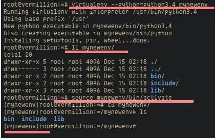 Django Python Virtualenv.