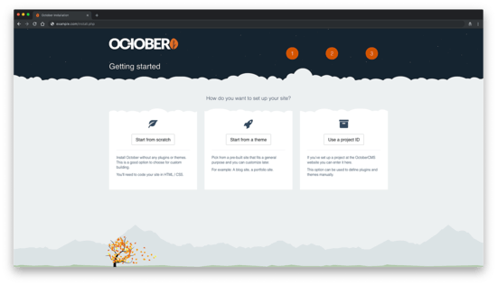 Getting Started with October CMS