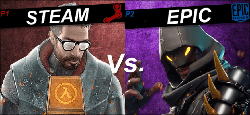 Steam And Epic Are In A Game Store Battle, And Players Win