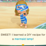 How To Get Mermaid Diy Recipes From Pascal In Animal Crossing New Horizons