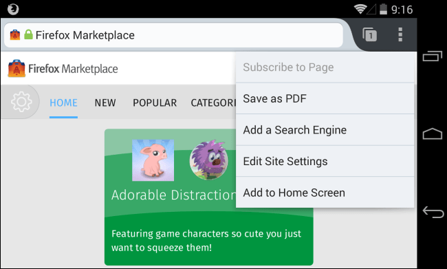 website-shortcut-on-android-home-screen-with-firefox-for-android