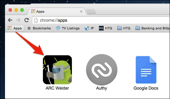 Run Android Apps using Chrome Extension