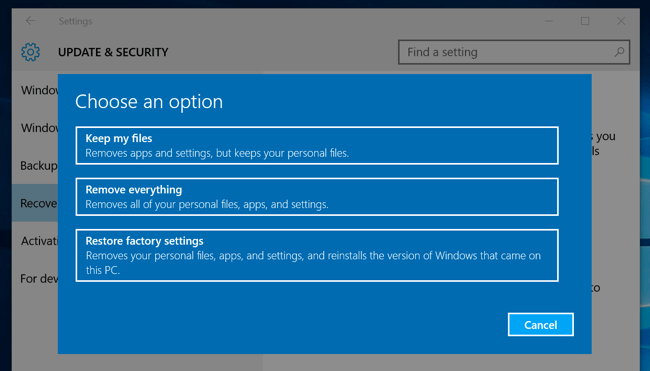 How to do a clean install of windows 10 the easy way microsofts free upgrade offer depends on your pcs hardware so it may not activate properly if youve swapped out hardware inside your pc ccuart Choice Image