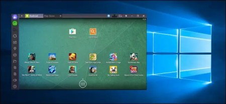 How to Run Android Apps and Games on Your Windows Desktop with     If there s an Android application you really love and wish you could run on  your computer  now you can  there s a dead simple way to run Android apps  on