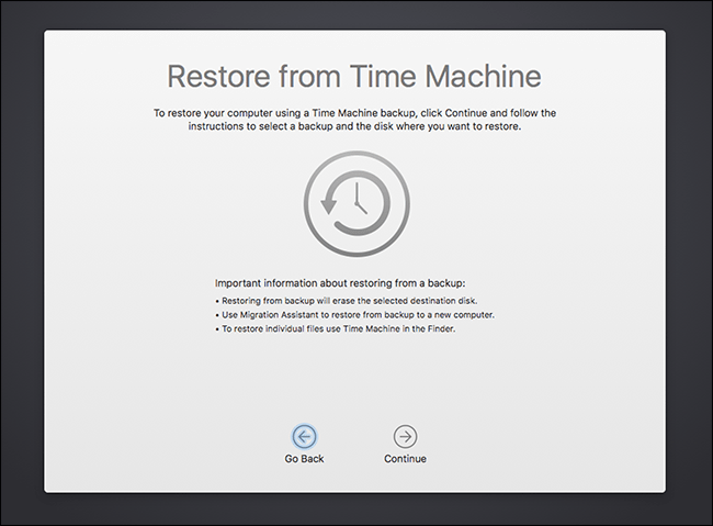 How to use the Mac recovery mode 3