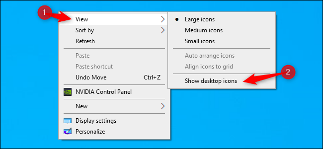 How to Hide or Unhide All Desktop Icons on Windows – IT News